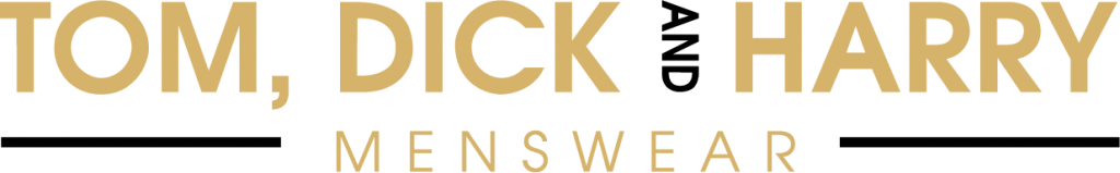 Tom Dick & Harry Menswear Logo